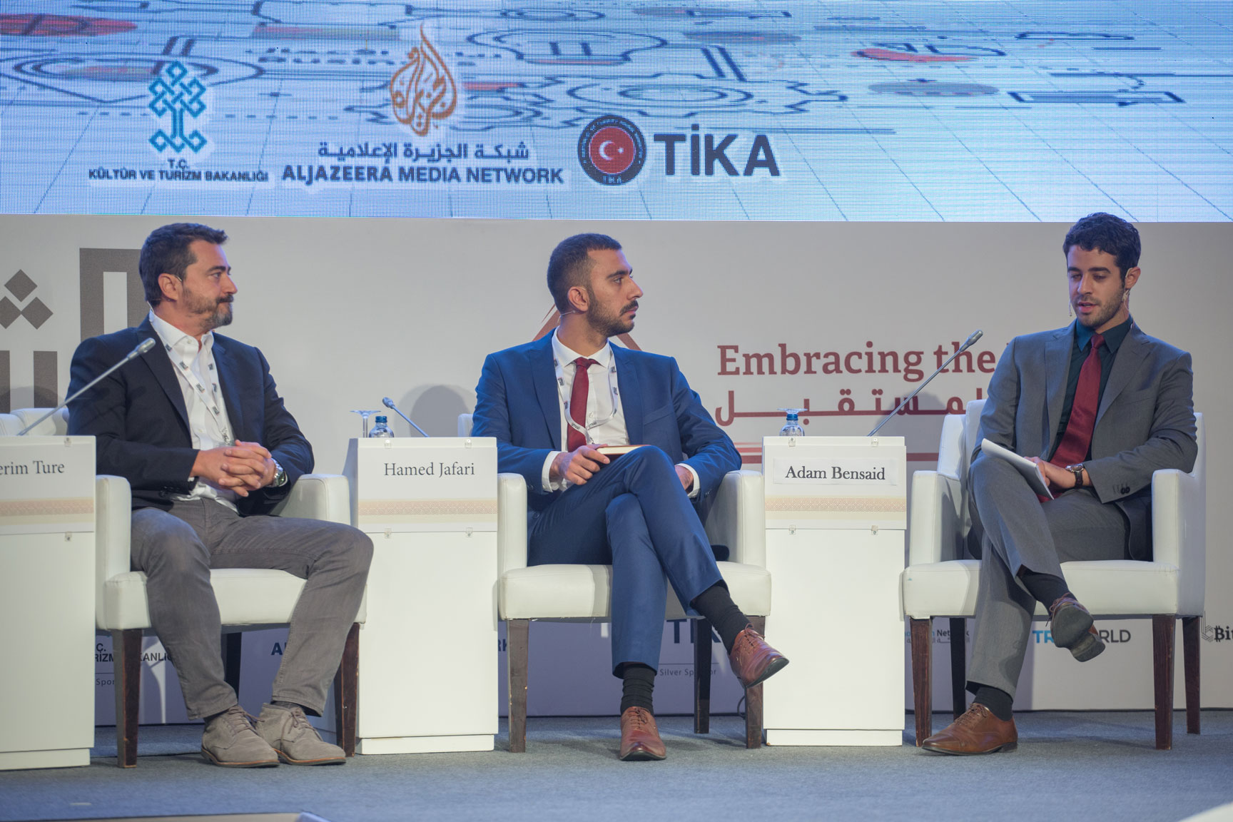 Al Sharq Youth Conference in Istanbul, Turkey. Panel on Building Novel Businesses